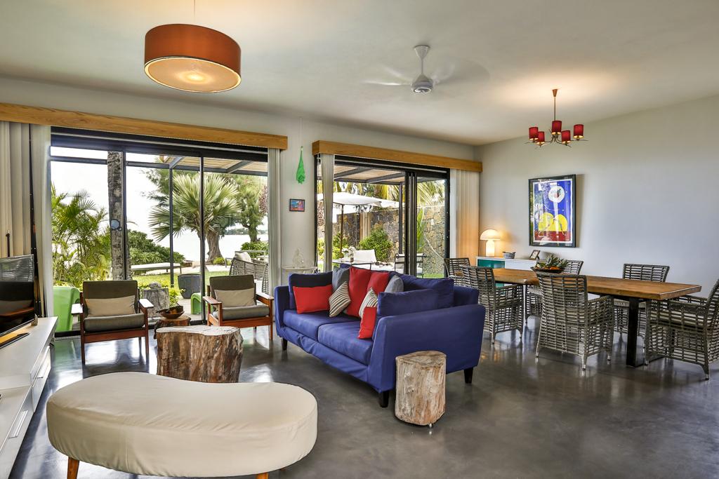 Villa CASITA living lounge