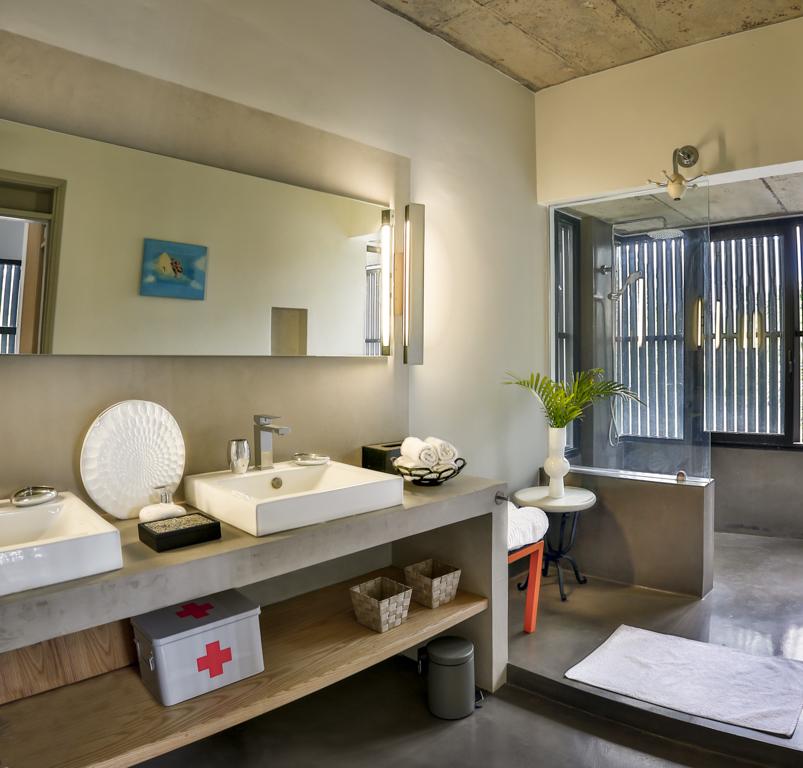 Villa CASITA bathroom first floor