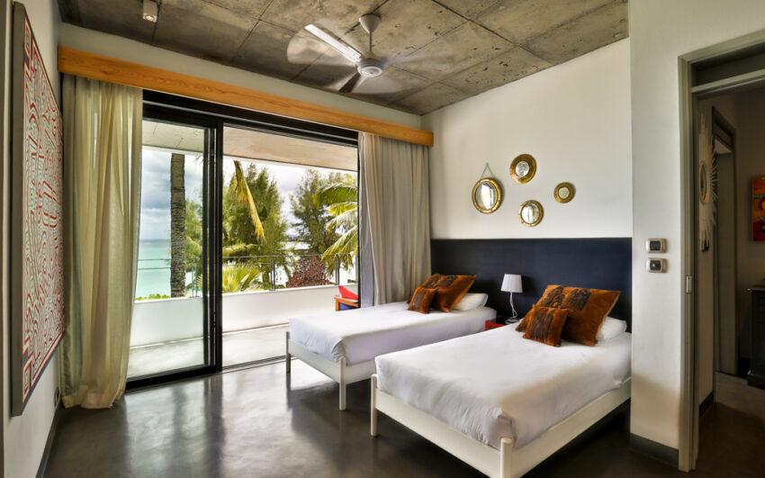 Villa CASITA bedroom 2 with sea view