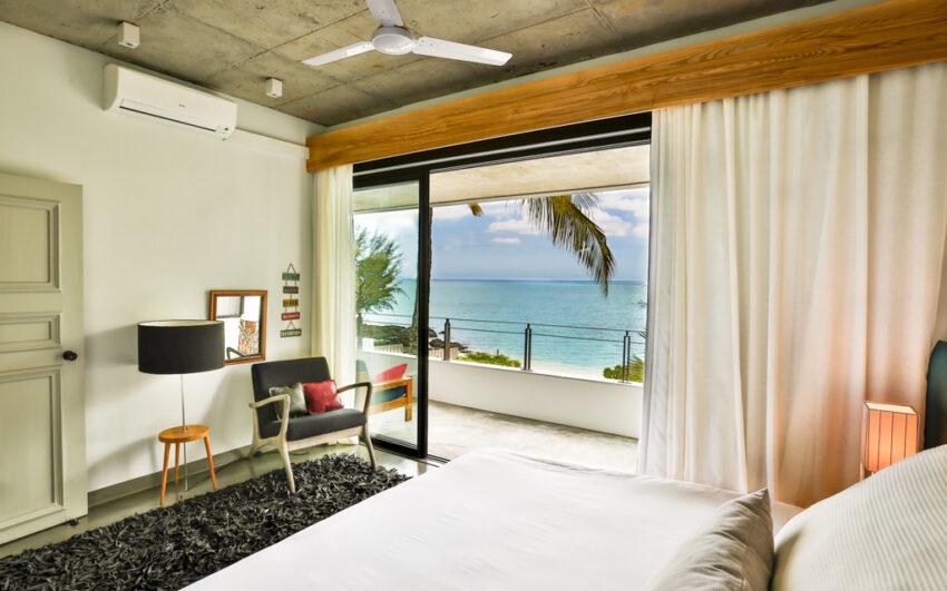 Villa CASITA bedroom with sea view