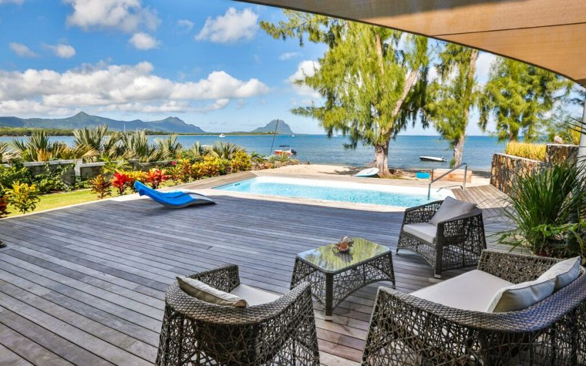 Villa Le Couchant 1 Black River Beachhouses Mauritius