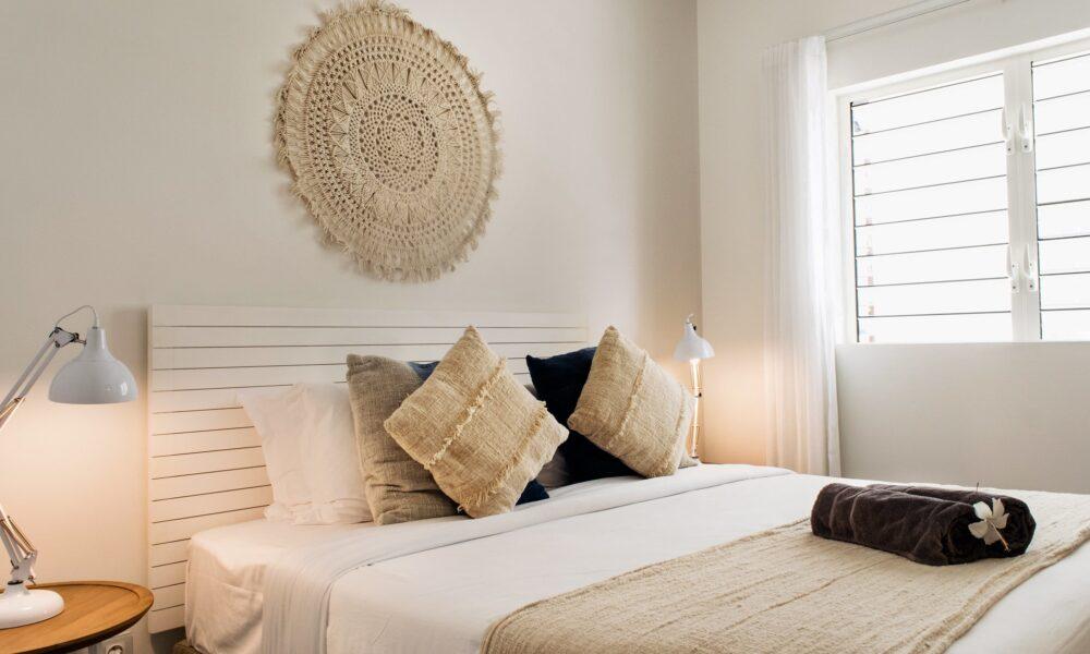 DELUXE APARTMENT Trou aux Biches bedroom en-suite