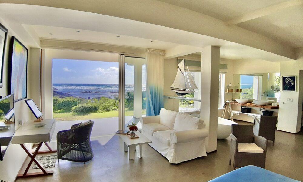 Villa Brisa bedroom ground floor sea view