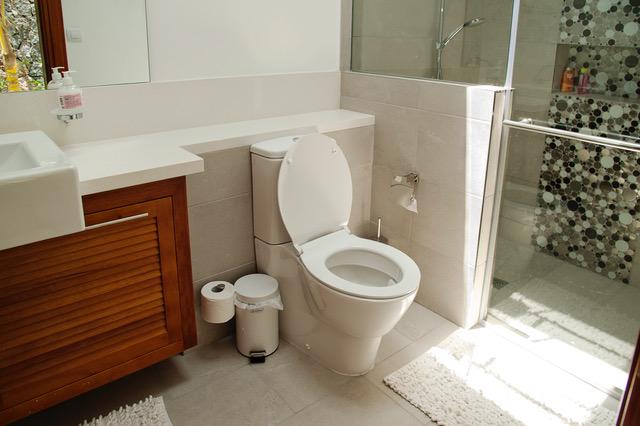 Villa Coralie bathroom