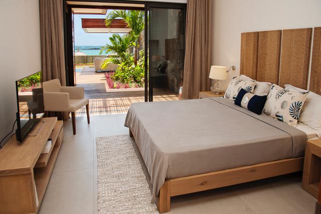 Villa Coralie master bedroom