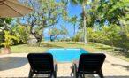 Villa Tropic 2 pool area with sun beds