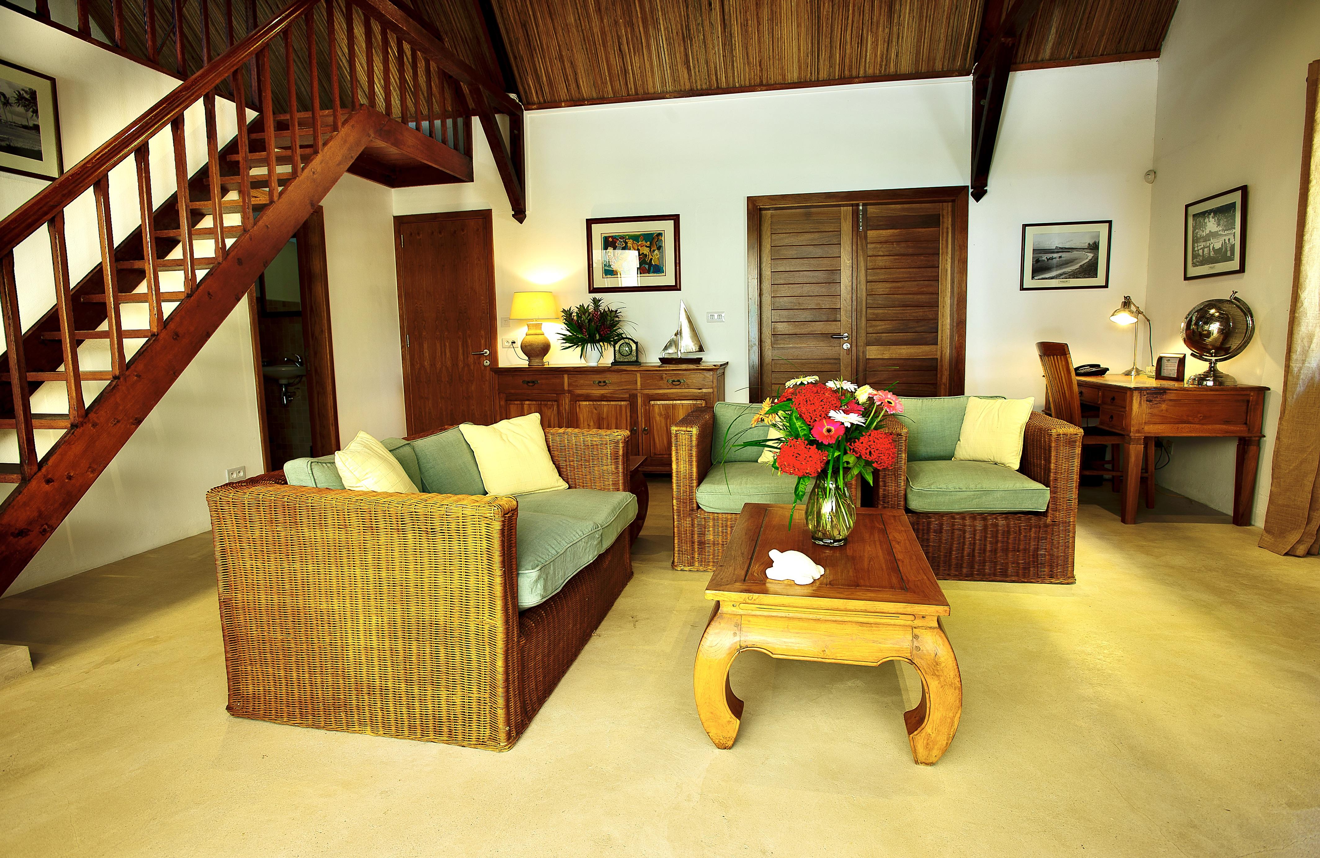 Villa Tropic 2 living area sofa
