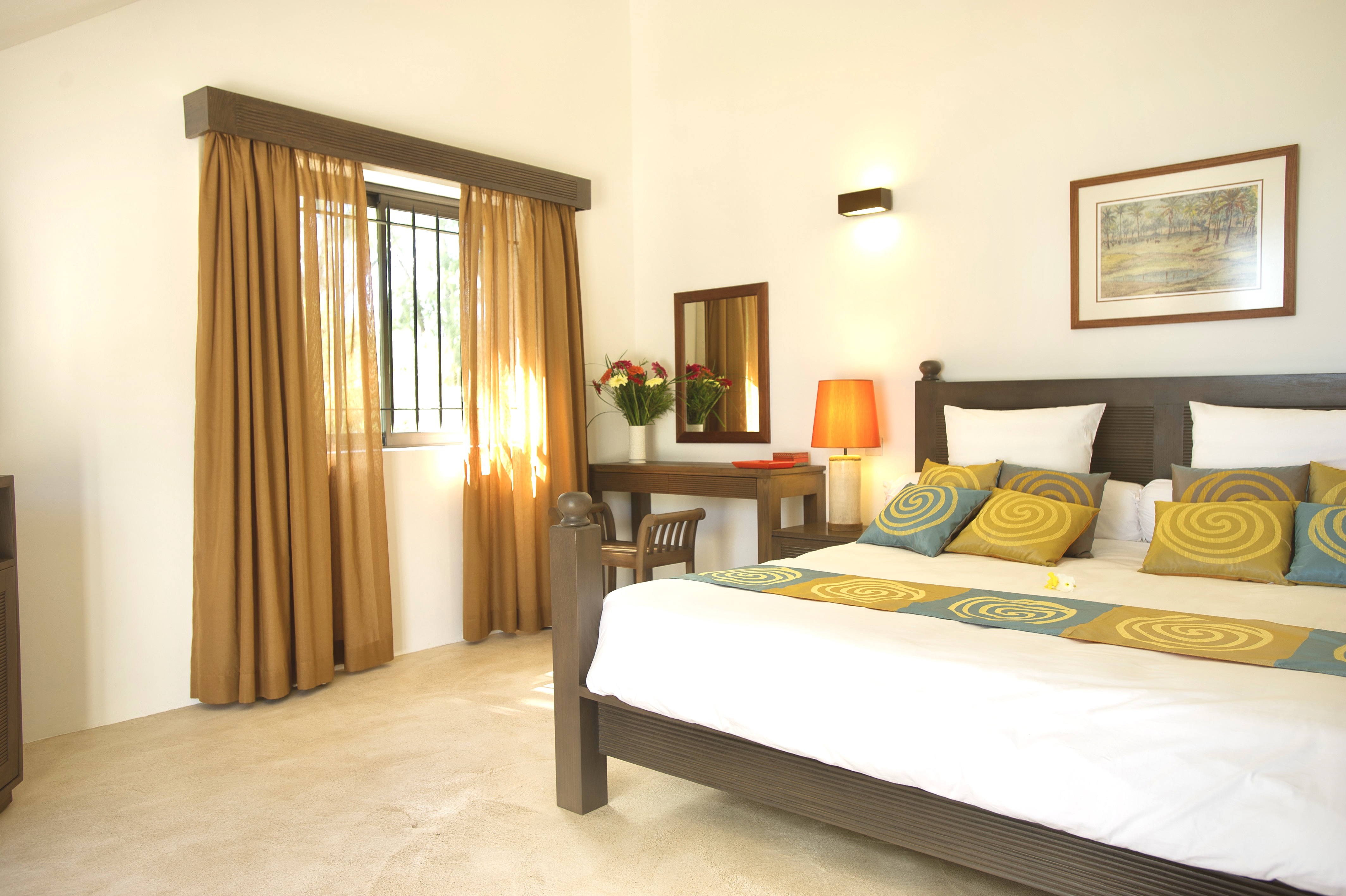 master bedroom with tv ensuite