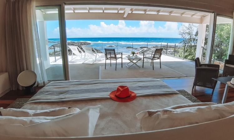 Villa Brisas beachfront master bedroom
