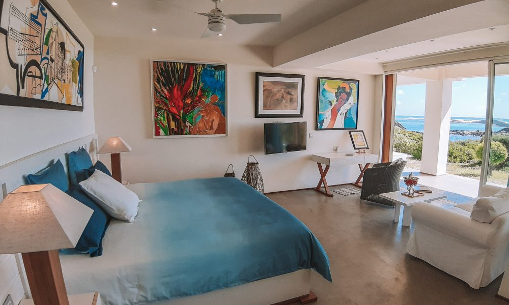 Villa Brisas beachfront master bedroom groundfloor