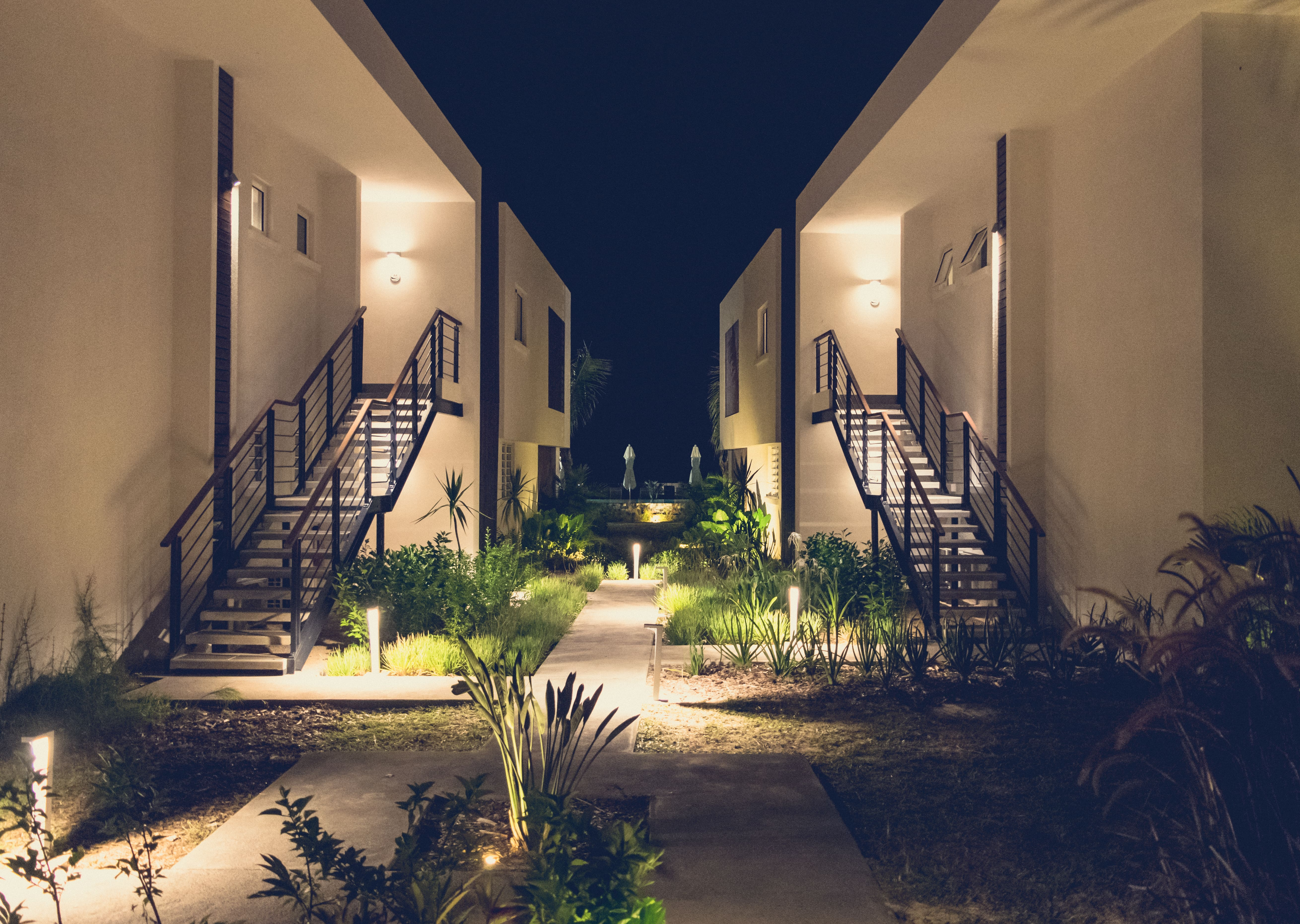 Deluxe Apartment Trou aux Biches Residence night
